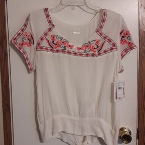 O'neill Embroidered Blouse